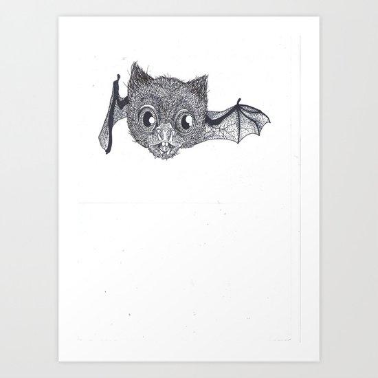 Chauve SouQI Art Print