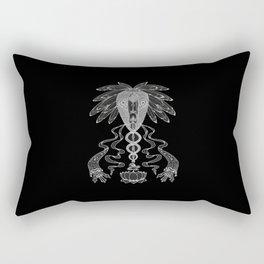The Cthonic Serpent Rectangular Pillow