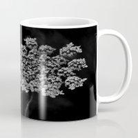 lace Mugs featuring Lace by SilverSatellite