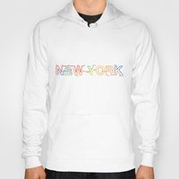 subway Hoodies featuring Subway NY by Legal Decor