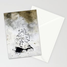 wardrobe malfunction Stationery Cards