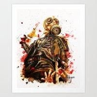 Killing Floor Killing Floor2 fan art zombies video game  Art Print