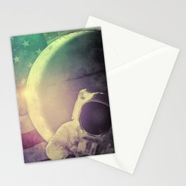 Adventure In Space Stationery Cards