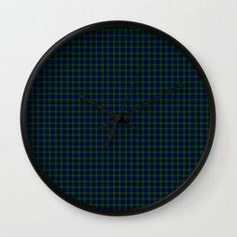 Murray Tartan Wall Clock
