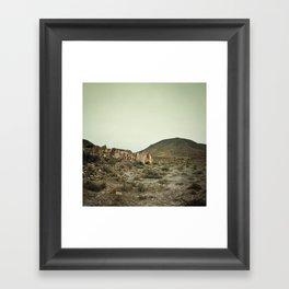 Nulle-part Framed Art Print