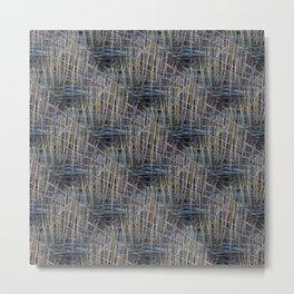 Reed Pattern Metal Print