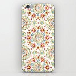 Flower Crown Carnival iPhone Skin
