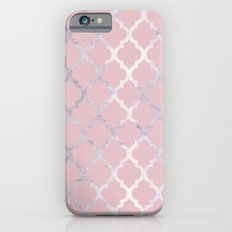 Moroccan Silver & Pink iPhone 6s Slim Case