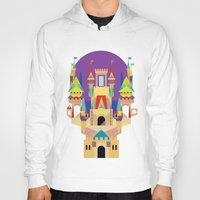 castle Hoodies featuring castle  by crayon dreamer