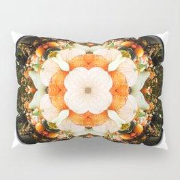 4 Point Mandala - Pumpkins Pillow Sham