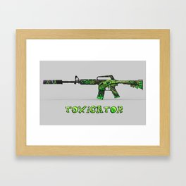 Toxicator Framed Art Print