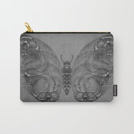 Butterfly skulls 4 Carry-All Pouch