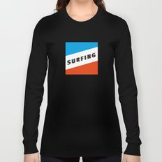SURFING 3D - Square Long Sleeve T-shirt