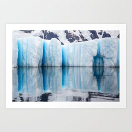Antarctic Ice - Limited to 10 prints in ANY size! Art Print