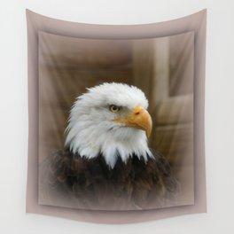 Eagle's sharp eye Wall Tapestry