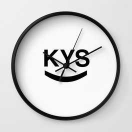 KYS SMILE Wall Clock