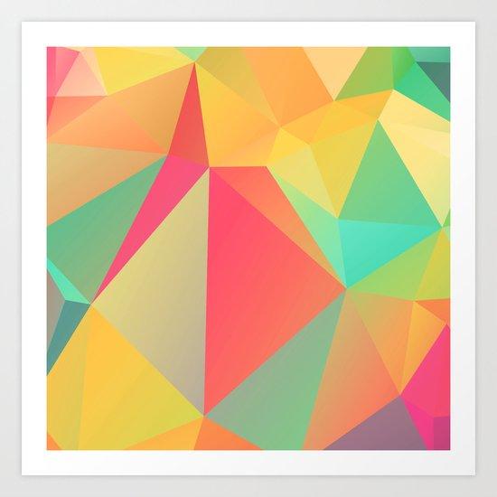 Geometric XIX Art Print