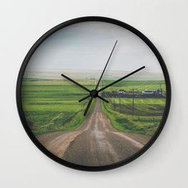 All Roads Lead Home Wall Clock