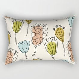 Anew bundle of whimsy Rectangular Pillow