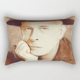 Harry Morgan, MASH Rectangular Pillow
