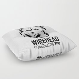 Wirehead Floor Pillow