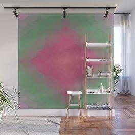 Boho Glow - Pink Sun Light Wall Mural