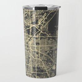 Denver map Travel Mug