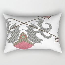 Ancient Art Rectangular Pillow
