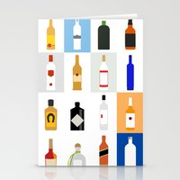 bar Stationery Cards featuring Open Bar by Liz Slome