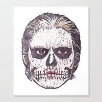 ahs Canvas Prints featuring AHS by behindthenoise