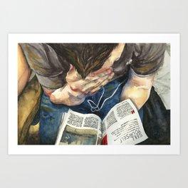 Commuters Three Art Print
