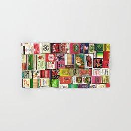 Antique Matchbooks Hand & Bath Towel