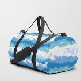 blue wave Duffle Bag