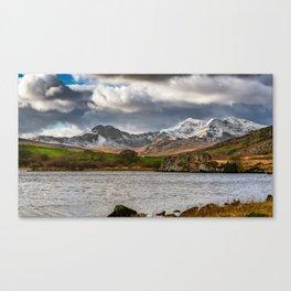 Snowdon Winter Landscape Canvas Print