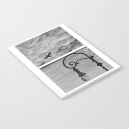 Black and white sky Notebook
