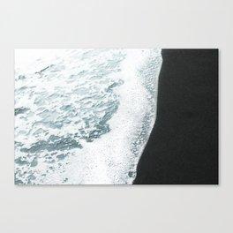 Black Sand Canvas Print