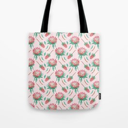 Pink Proteas Tote Bag
