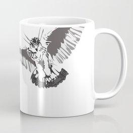 Owl of the Pheonix White Coffee Mug
