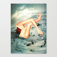 camp Canvas Prints featuring Camp by Erin Case