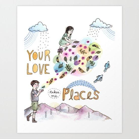 Your Love Art Print