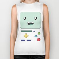 bmo Biker Tanks featuring BMO by Kezarah