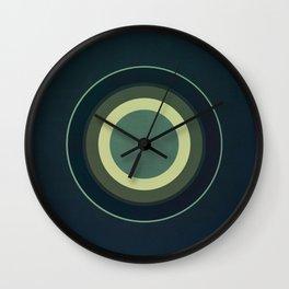 Circular Blues Wall Clock