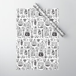 The Tiny Witch Gallery Wrapping Paper