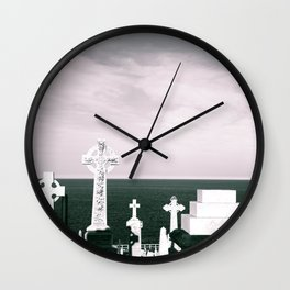 A place to rest by the ocean Wall Clock