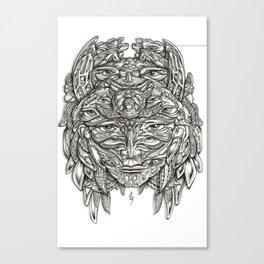 Turtle Princess Canvas Print