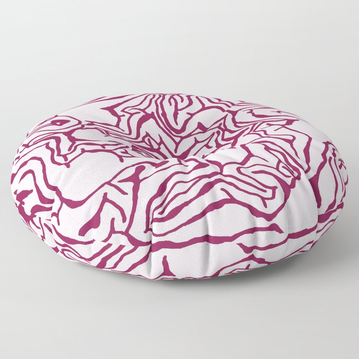 Cabbage Core Floor Pillow