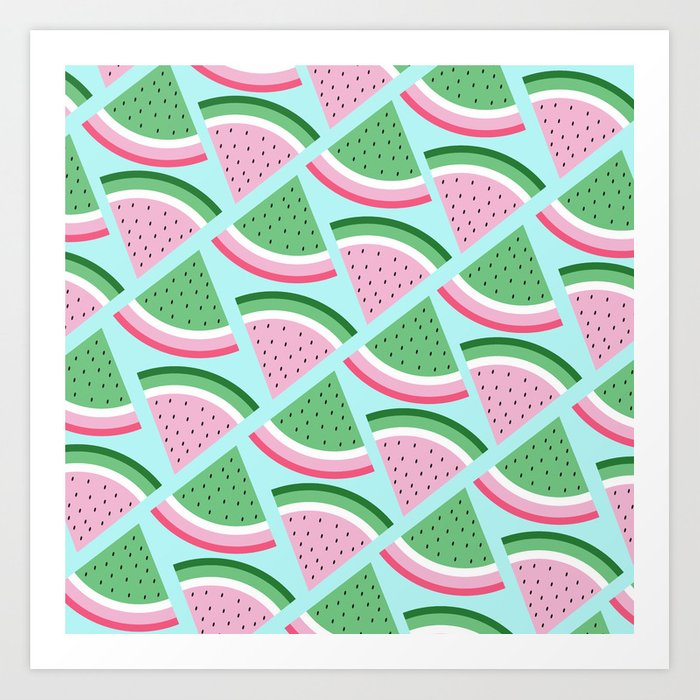 FreshWatermelon Art Print