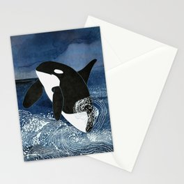 Killer Whale Orca Stationery Cards