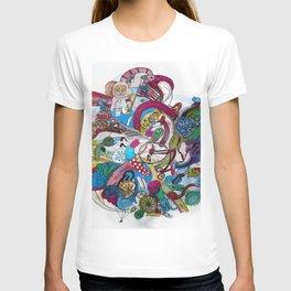 Moon Trike City T-shirt