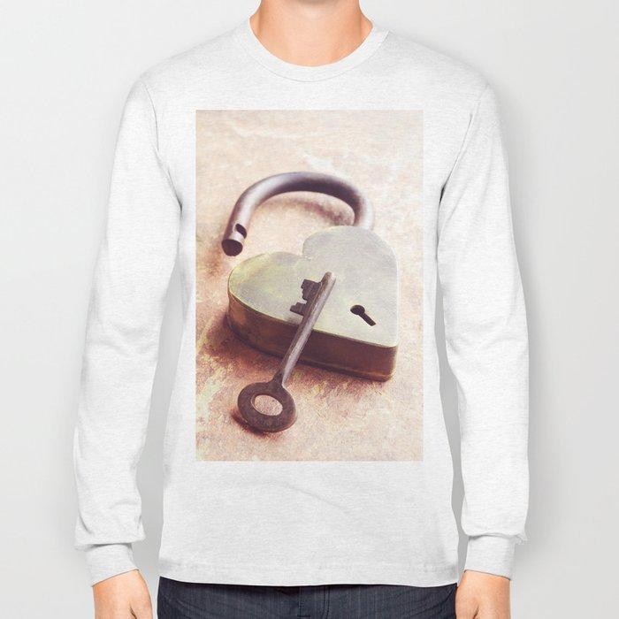 Key to My Heart Long Sleeve T-shirt